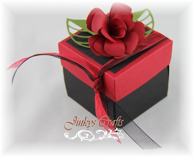Jinky S Crafts Amp Designs Quincea 241 Era Exploding Invitation Box