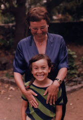 Me and my Mom who always encouraged my creativity. Thanks Mom!