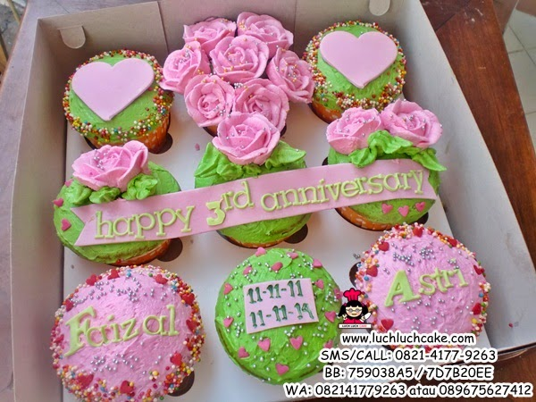 Cupcake Buttercream Cantik Daerah Surabaya - Sidoarjo