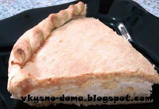 Пирог с брынзой на завтрак