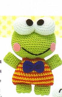 Free Super Mario Amigurumi Patterns : Patrones de crochet gratis: Keroppi amigurumi a crochet