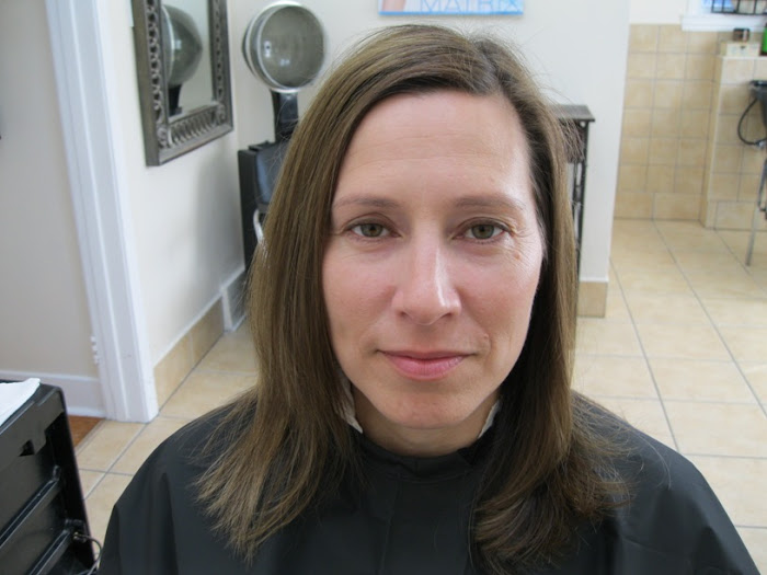 Live Make Over Before Picture of Melinda Bourdon