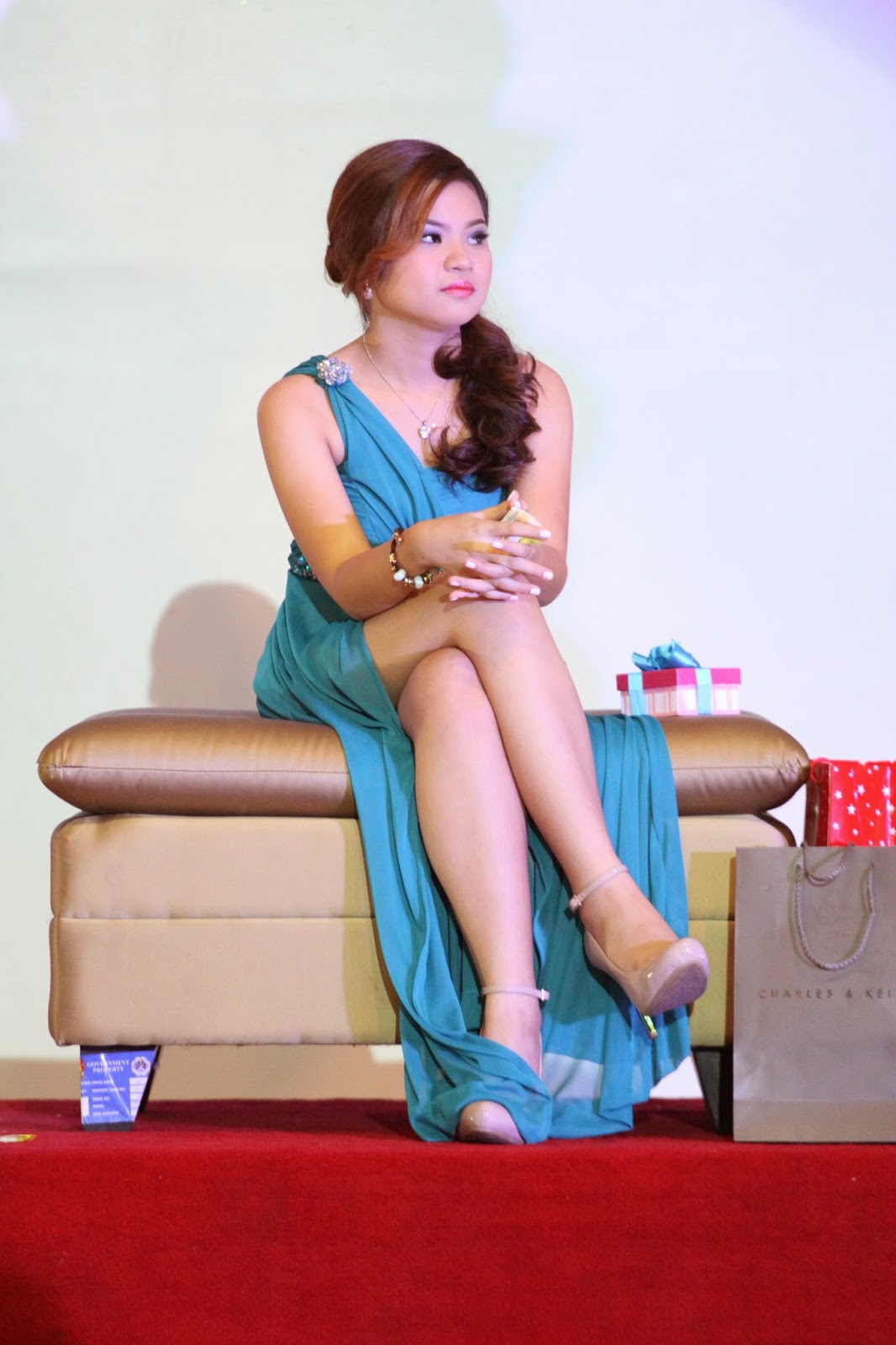 Lizette at her Debut Party, 2013