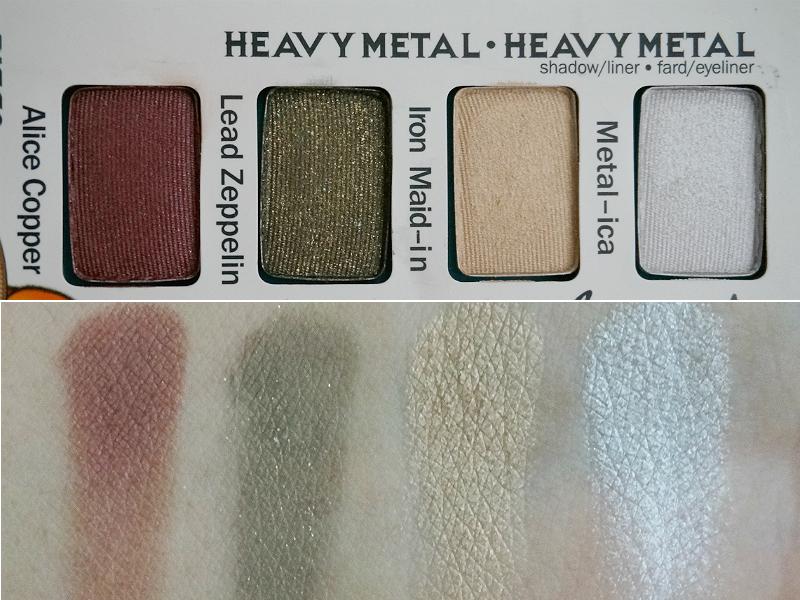 TheBalm Balm Jovi Rockstar Palette - Heavy Metal