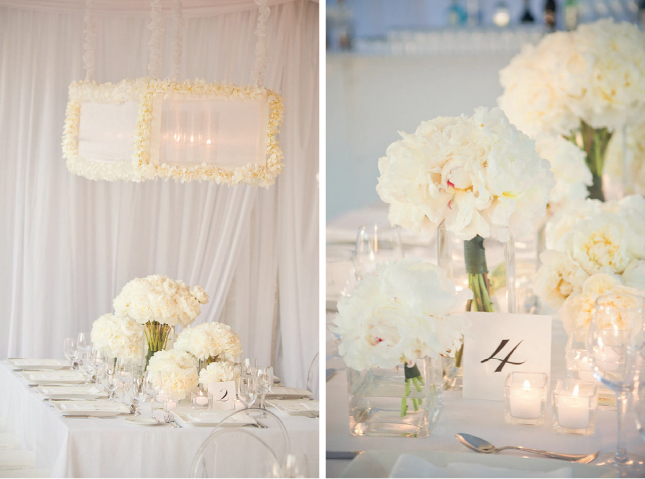 All-White Wedding Decor - Belle the Magazine . The Wedding Blog
