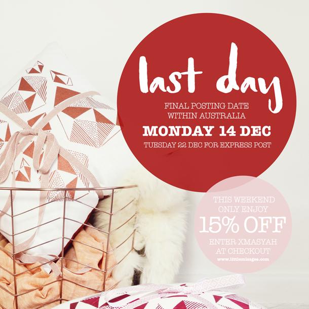 last posting day sale