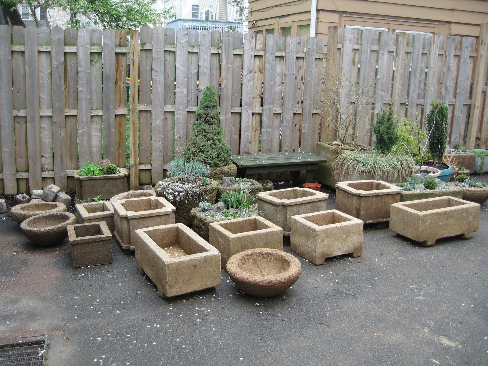barrow works hypertufa planters for sale