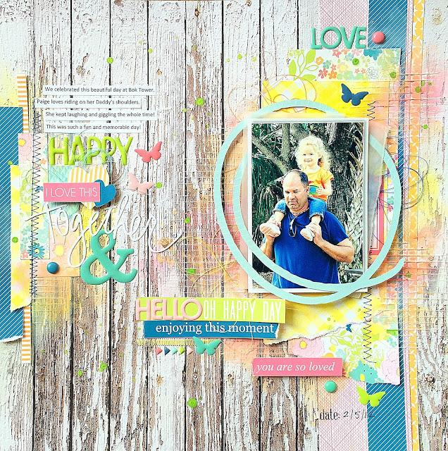 Missy Whidden Chickaniddy Crafts Yippee Layout