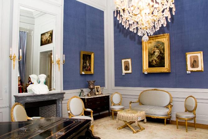 Royalement blog le palais royal le salon louis xvi - Salon de the palais royal ...