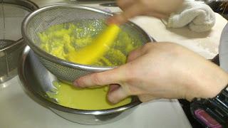 出張料理:トウモロコシのポタージュ