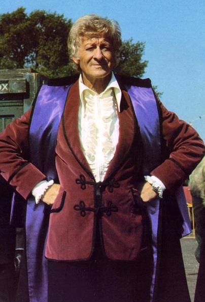 the Doctor (Jon Pertwee)