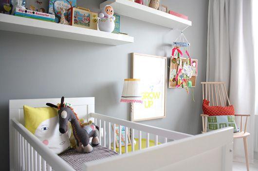 Decoração quarto de bebê com cores neutras