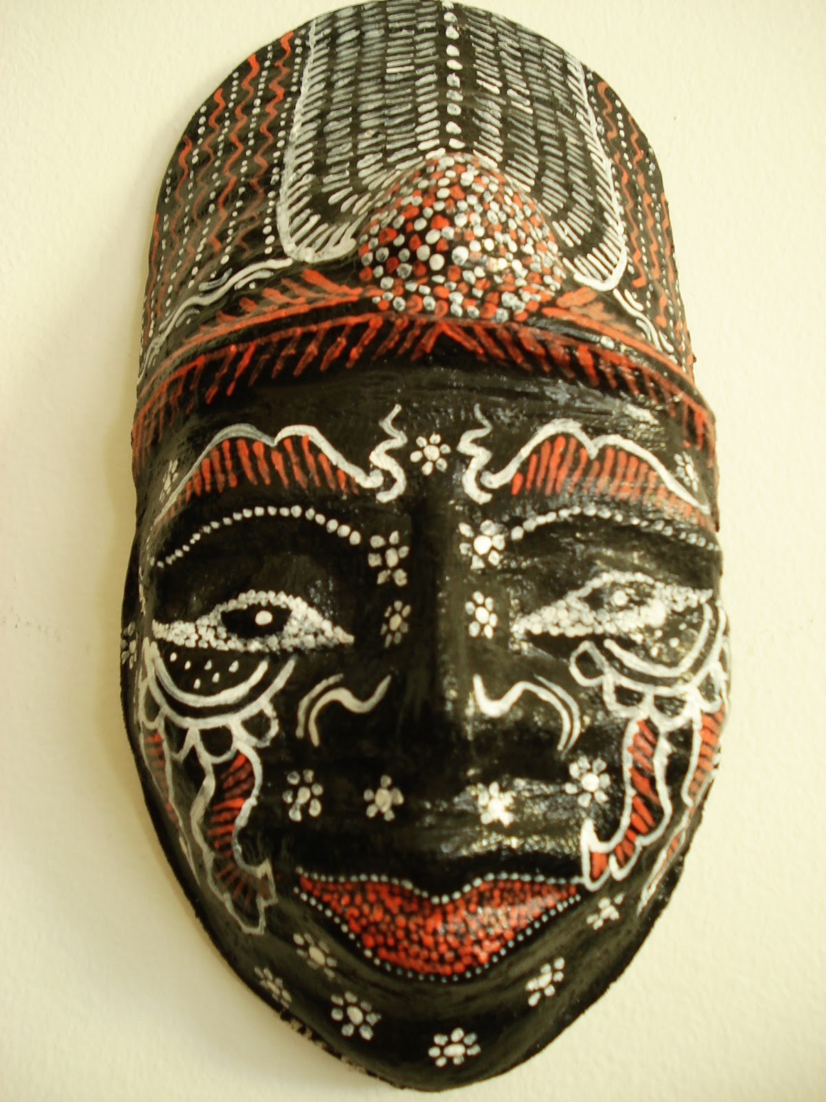 African Masks And Their Meanings For Kids.html - My sample i was going for an indonesian style mask