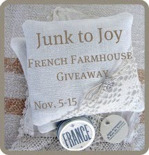 French Farmhouse Giveaway!!