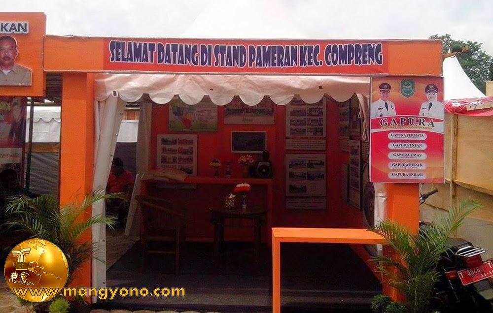 Stand Kec. Compreng, Pameran Pembangunan 2015.