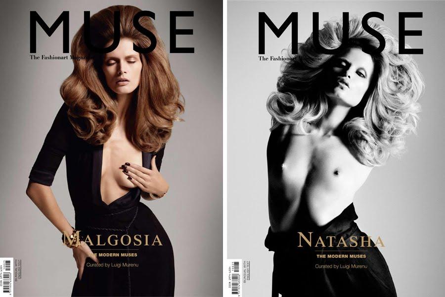 Natasha Malgosia Muse Magazine Cover