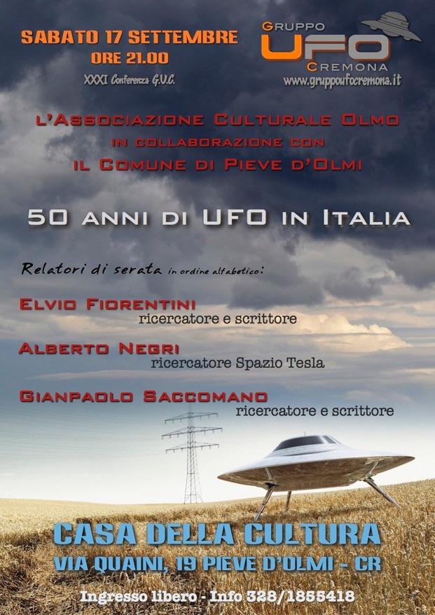 50 ANNI DI UFO IN ITALIA