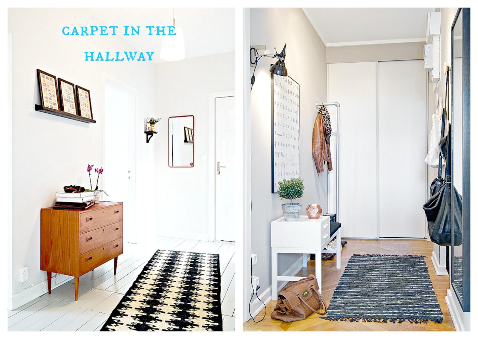 przedpokój dywanik