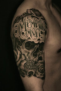 skull tattoo / Memento mori tattoo