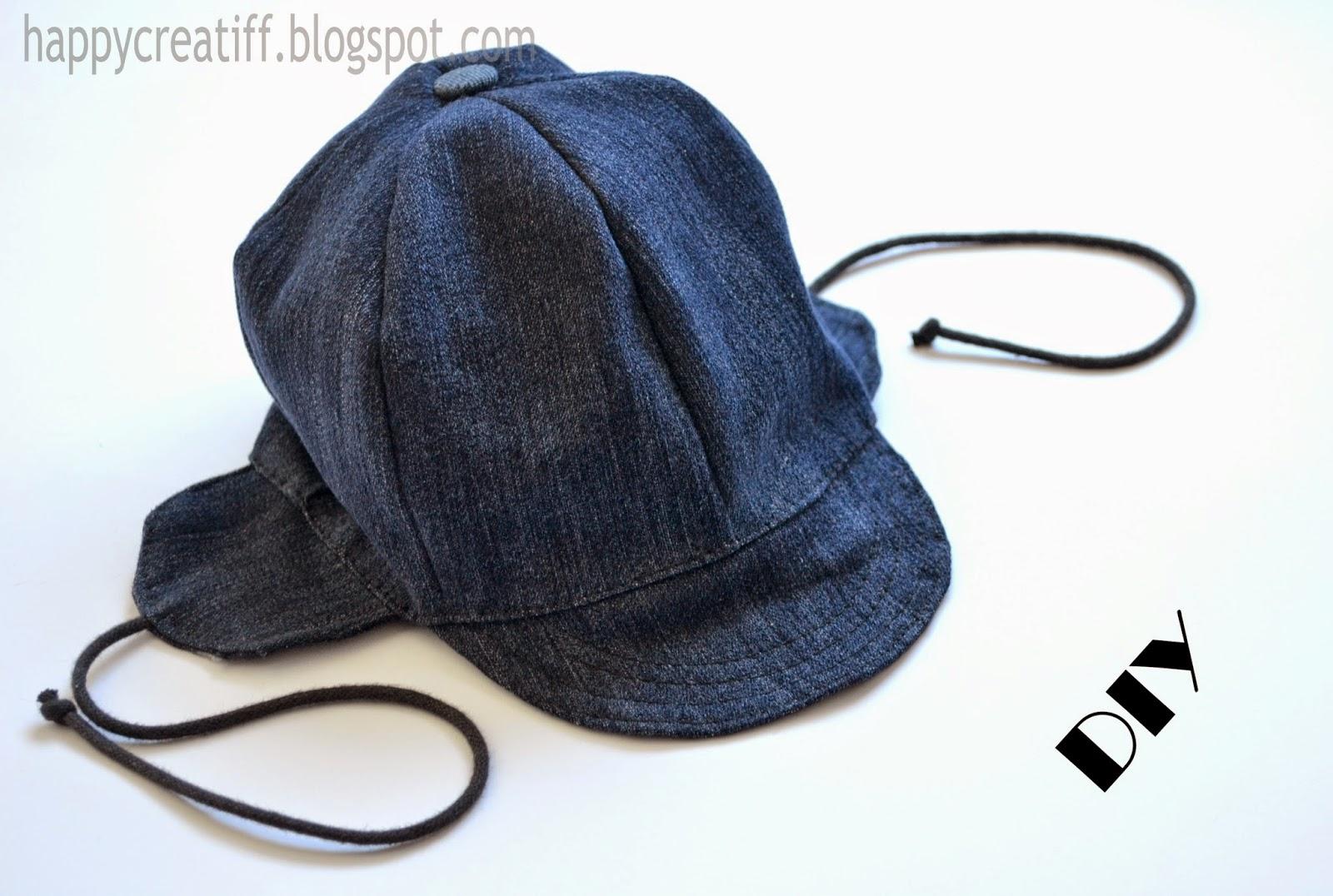 http://happycreatiff.blogspot.com/2014/11/diy-dziecieca-czapka-z-jeansu.html