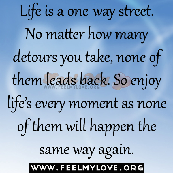 Quotes About Friendship Two Way Street : Life is a two way street quotes quotesgram