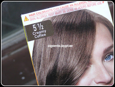 Garnier Color Natural - 5 1/2 Creamy Coffee closeup