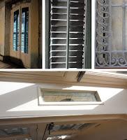 Detalles de la restauración y rehabilitación de carpintería y forja del edificio histórico
