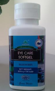 eyecare softgel green world obat herbal kesehatan mata