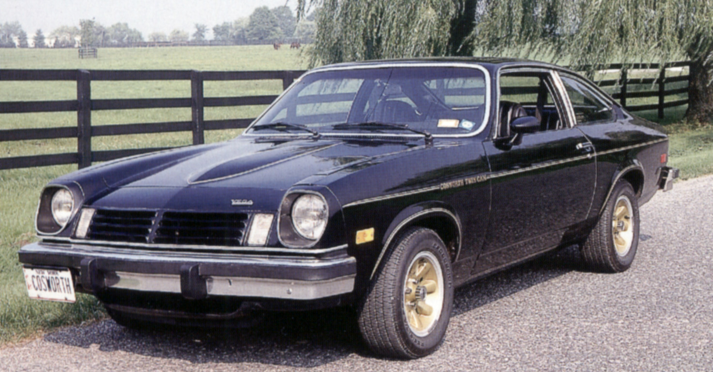 The Chevy-Cosworth Vega : A Beautiful Loser | phscollectorcarworld