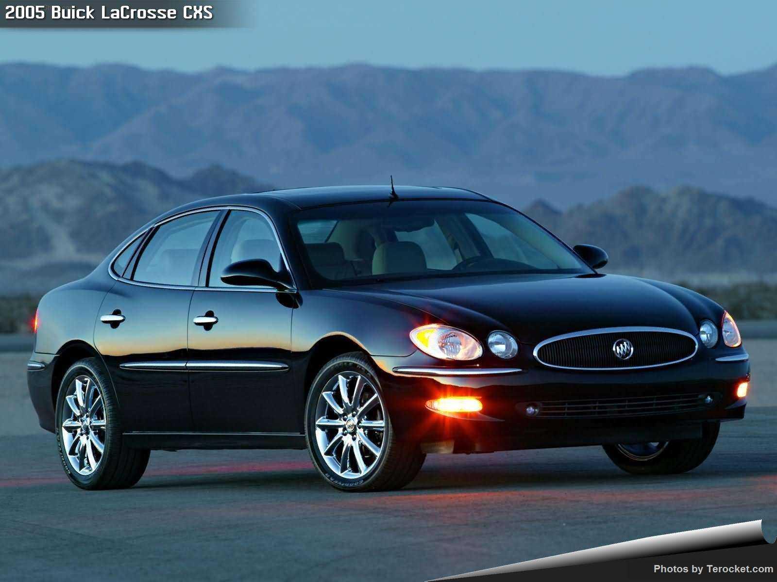 Hình ảnh xe ô tô Buick LaCrosse CXS 2005 & nội ngoại thất