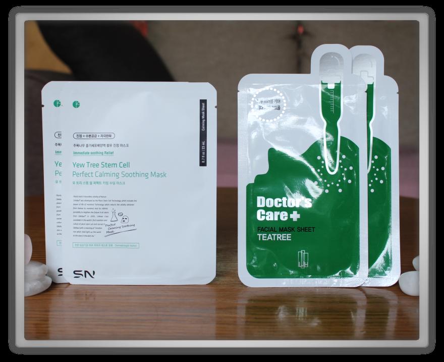 겟잇뷰티박스 by 미미박스 memebox beautybox #the mask edition #2 unboxing review preview box LJH tea tree mask SN yew tree stemm cell perfect calming soothing
