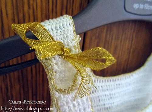 вязаный крестильный наряд, вязаное платьице для крещения, в чем крестить девочку