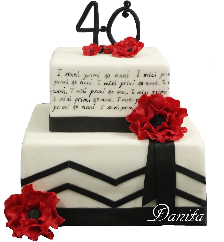 torta: i miei primi 40 anni