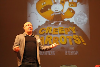 Aaron Reynolds, author of Creepy Carrots