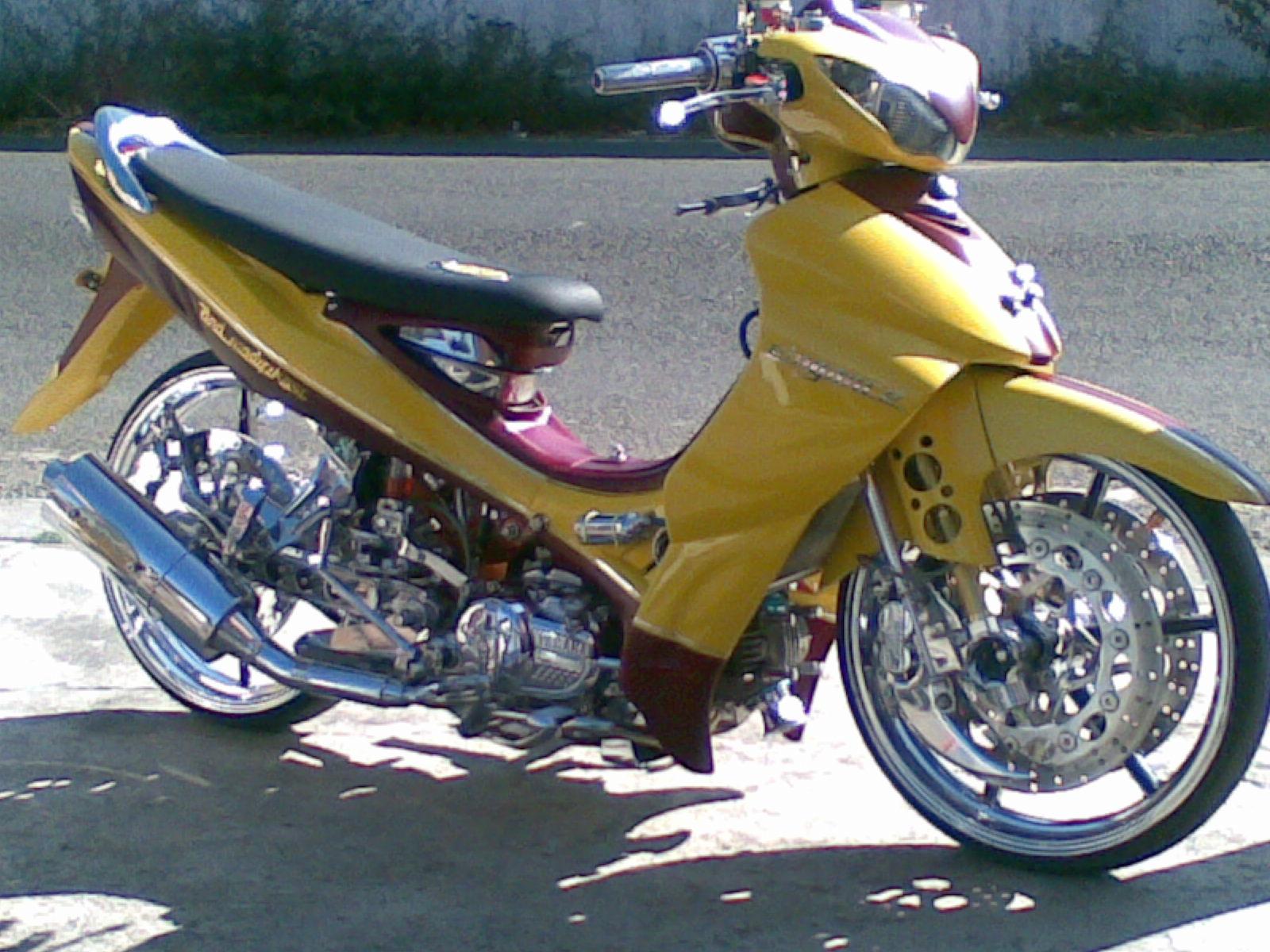 Modifikasi Jupiter Mx 2006 Kopling