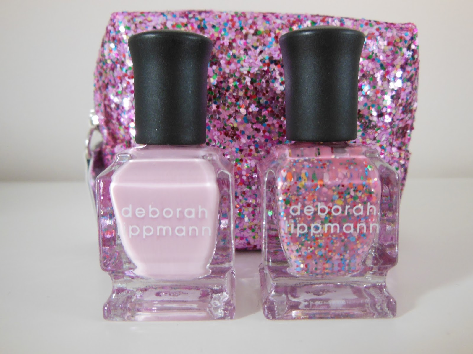 Deborah Lippmann two of hearts nail polish duo