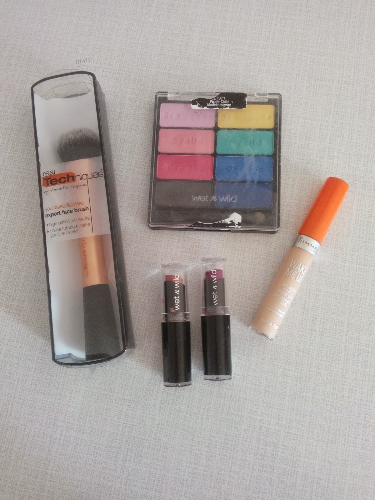 wet n wild rimmel wake me up real tekniques makyaj