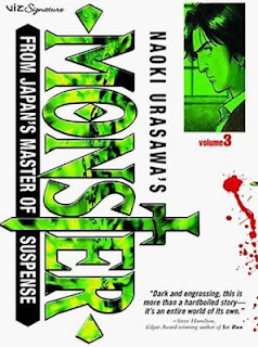 Cover of the third volume of Naoki Urasawa's Monster