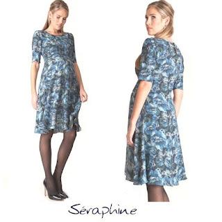 SERAPHİNE Florrie Print Dress