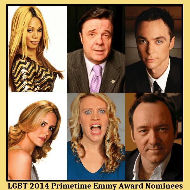 LGBT 2014 Primetime Emmy Award nominees