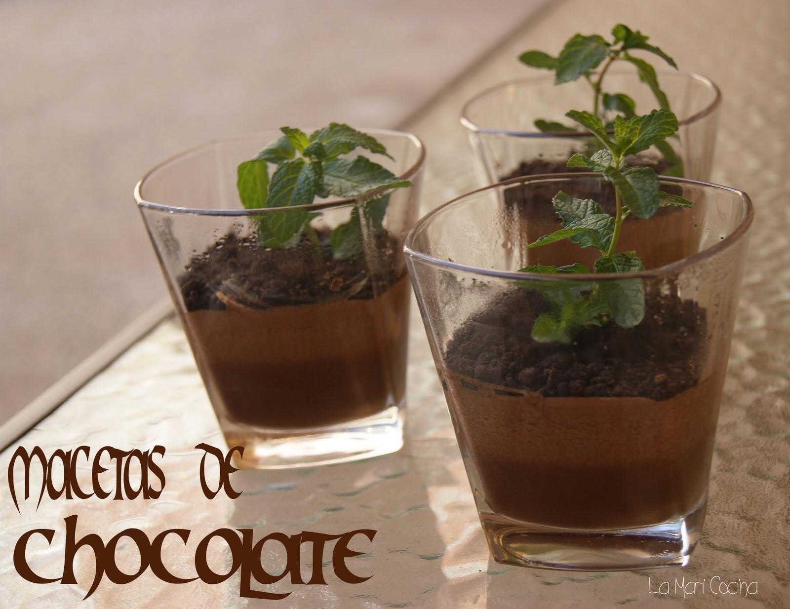 La mari cocina macetas de chocolate - Macetas para cocina ...
