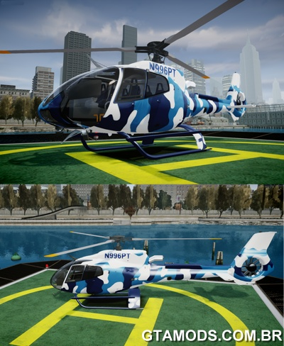 Eurocopter EC130B4 - Blue Camouflage