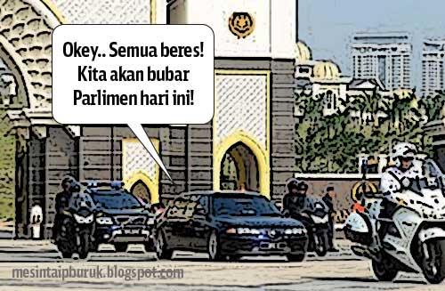HOT! Parlimen bubar!