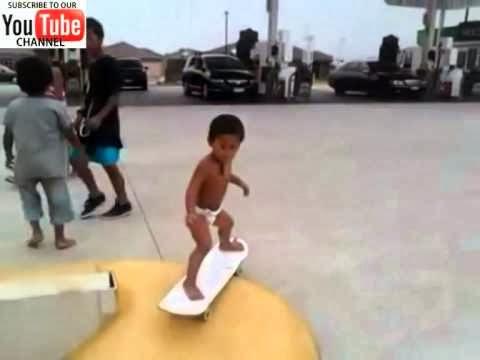 El skater mas joven del mundo