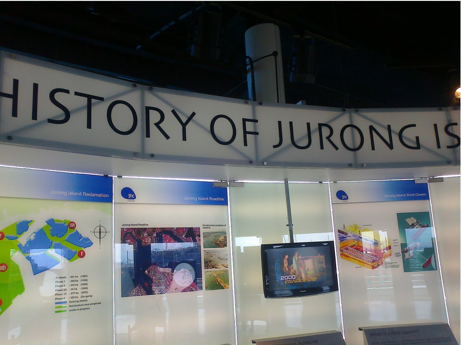 Singapore Local Tour: Places I have been - Jurong Island Chem Gallery