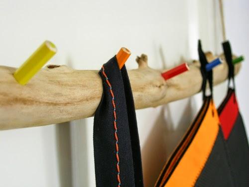 Κρεμάστρα για το παιδικό δωμάτιο DIY