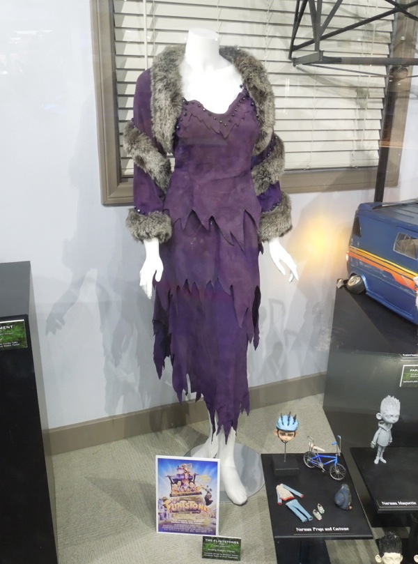 the flintstones elizabeth taylor movie costume on display