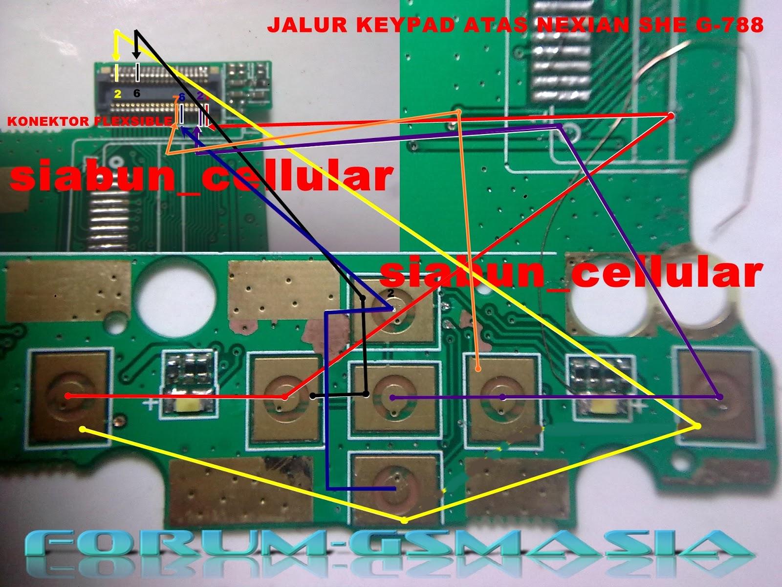 Solusi All Service Hp China Komunicacell Nexcom Mars Jumper Keypad Nexian She G 788 Putustrik