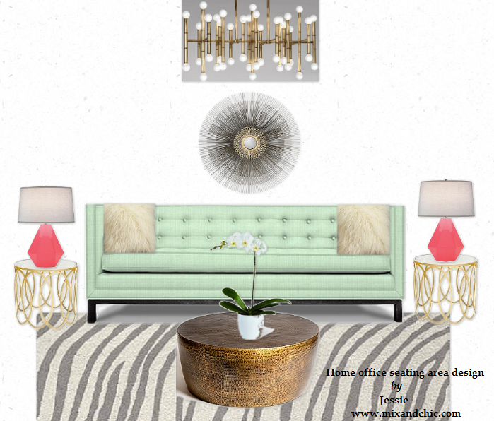 My Own Living Room That I Designed: