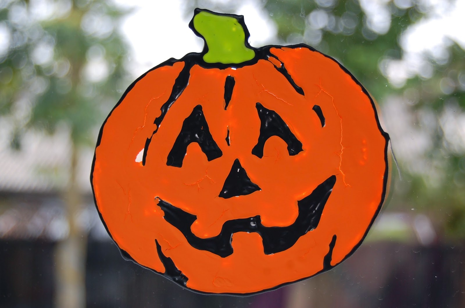 homemade halloween window decorations diy halloween and christmas window decals clings stickers using